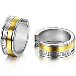 Stainless Steel Earrings by OPK